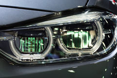 Car headlight or headlamp. Is a some of car parts in car or automobile Stock Images