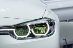 Car headlight or headlamp. Is a some of car parts in car or automobile Stock Photo