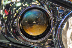 Car headlight or headlamp. Is a some of car parts in car or automobile Stock Photography