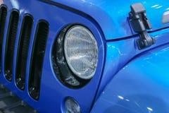 car headlight modern Στοκ Φωτογραφία
