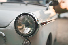 Car Headlight Turned Off Stock Photography