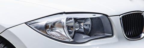 Sport car headlight royalty free stock photos