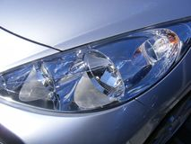 Car headlights Royalty Free Stock Photography