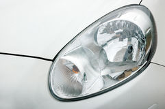 Car headlights Royalty Free Stock Image