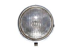 Car headlights headlamp vintage isolated. Lamp Royalty Free Stock Photo