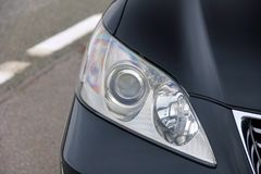 Car headlights. Luxury Headlights stock images