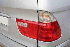 Car headlights. Luxury Headlights. Gray car stock images
