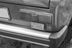 Car headlights. Luxury Headlights. Black and white stock photos