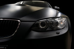 Car headlights. Stock Images
