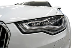 Car headlights. Royalty Free Stock Image