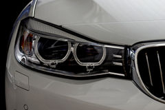 Car headlights. Royalty Free Stock Photography