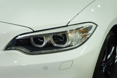 Car Headlights Royalty Free Stock Photo