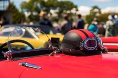 Car Helmet Stock Photo