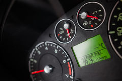 Car high fuel consumption Royalty Free Stock Photo