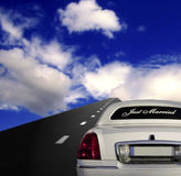 Car on the highway Royalty Free Stock Photography