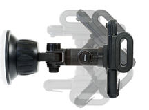 Car holder. Isolated on the white background - adjust the viewing angle stock photography