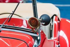 Car horn. Vintage old retro oldtimer classic car horn Royalty Free Stock Photos