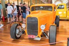 car hot orange rod Στοκ Εικόνα