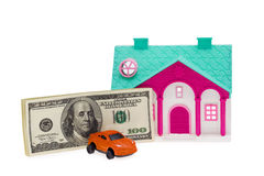 Car and House investment Stock Photography