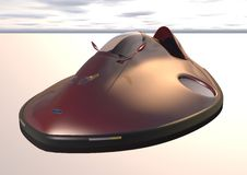 Car hovercraft picture 1. Car on an air cushion Stock Images