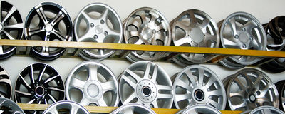 Car hub. A variety of wheel hub stock images