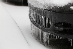 Car Ice Stock Images