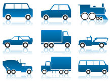 Car icon Royalty Free Stock Photography