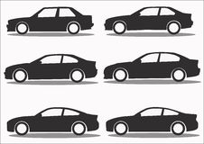 Car Icon collection  set Royalty Free Stock Photo