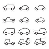 Car  icon Stock Images