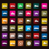 Car icon. This is really cool icon, pls download guys Royalty Free Stock Photography