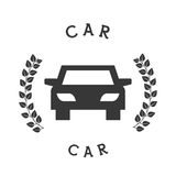 Car icon pictogram Stock Images