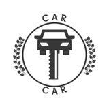 Car icon pictogram Royalty Free Stock Image