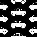 Car icon seamless pattern Royalty Free Stock Image
