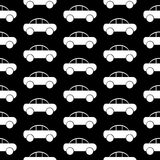Car icon seamless pattern Stock Images