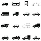 Car icon set. The car of icon set Royalty Free Stock Images