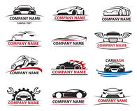 Car icon set Royalty Free Stock Images