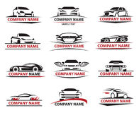 Car icon set Royalty Free Stock Photo