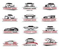 Car icon set Royalty Free Stock Photo