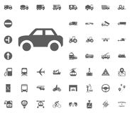 Car icon. Transport and Logistics set icons. Transportation set icons.  Stock Images