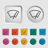 Car icon wiper. Vector illustration Royalty Free Stock Photo
