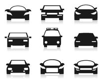 Car icon2 Royalty Free Stock Photography