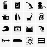 Car icons Royalty Free Stock Photos