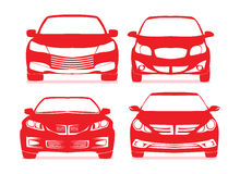 Car icons. Royalty Free Stock Photography