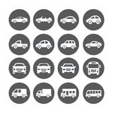 Car Icons Stock Photos