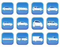 Car icons 1 Royalty Free Stock Image