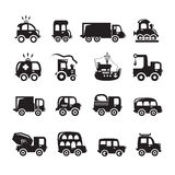 Car icons set Royalty Free Stock Image
