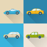 Car icons set Stock Photo