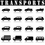 Car Icons Royalty Free Stock Photo