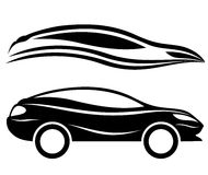 Car icons. Royalty Free Stock Images