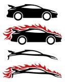 Car icons. Stock Photo